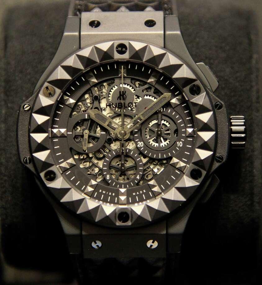 The Big Bang Depeche Mode limited-edition watch. Photo: Karen Warren, Staff / © 2013 Houston Chronicle