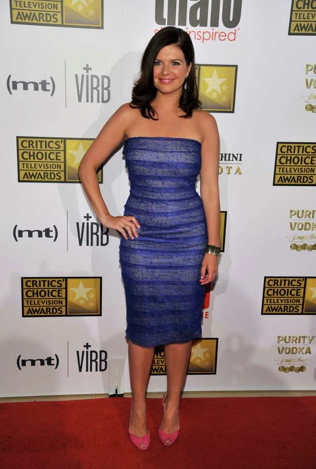 Casey Wilson arrives at the Critics' Choice Television Awards in the Beverly Hilton Hotel on Monday, June 10, 2013, in Beverly Hills, Calif. (Photo by Chris Pizzello/Invision/AP) Photo: Chris Pizzello / Invision