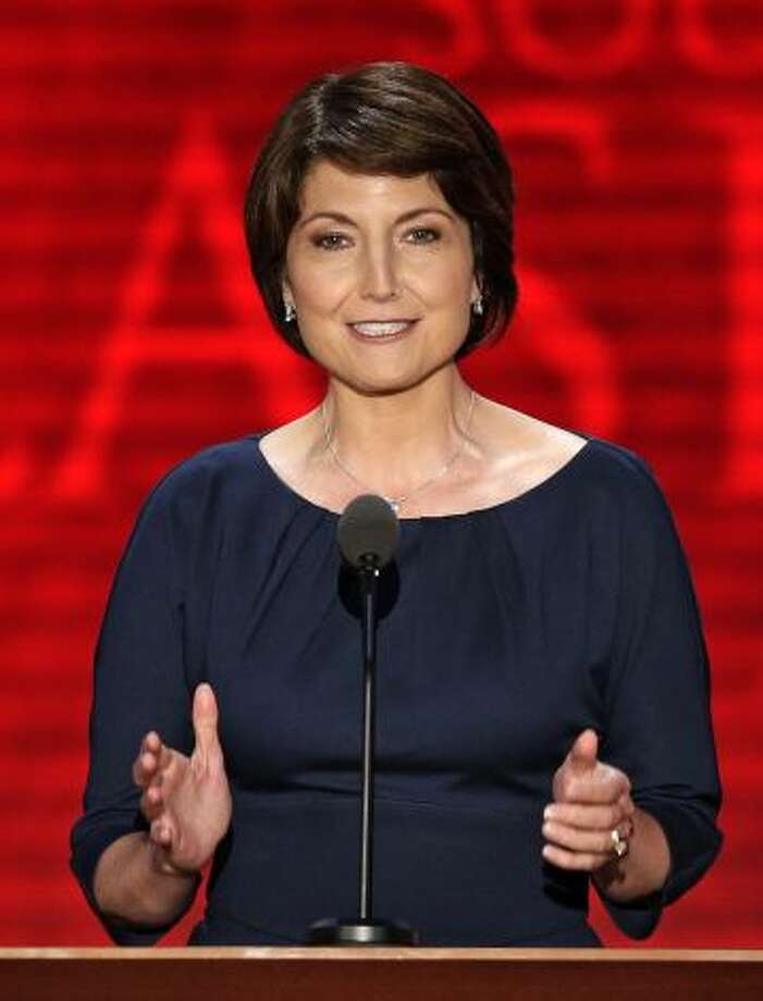 Rep. Cathy McMorris Rodgers, R-Wash.:  McMorris Rodgers is chair of the House Republican Conference.