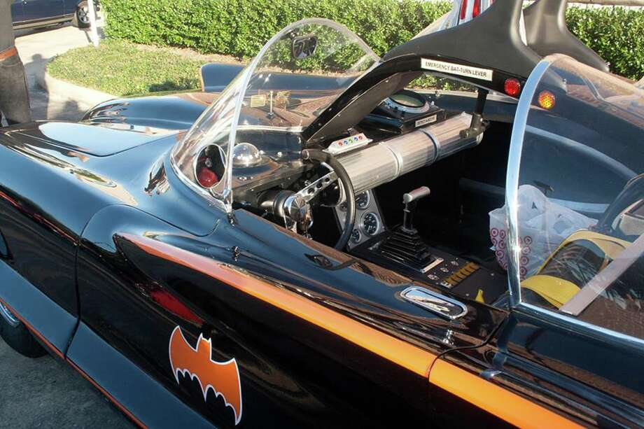 What better way to celebrate Halloween than with the Batmobile from a past Niftee 50ees Monster Classic Cruise Night.