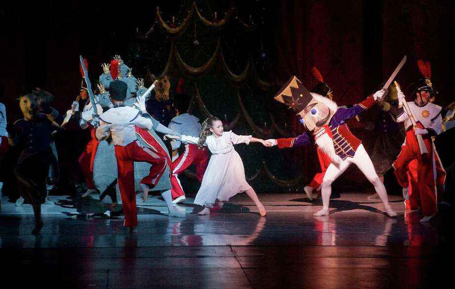 "Connecticut Ballet performs a scene from ""The Nutcracker"" at the Palace Theatre, Stamford, Conn. in December 2010. The show returns to the Palace for another season on Dec. 14, 15, 21 and 22, 2013. Guest artists from New York-based American Ballet Theatre were recently announced for the 2013 performances. File photo Photo: Kathleen O'Rourke, ST / Stamford Advocate"