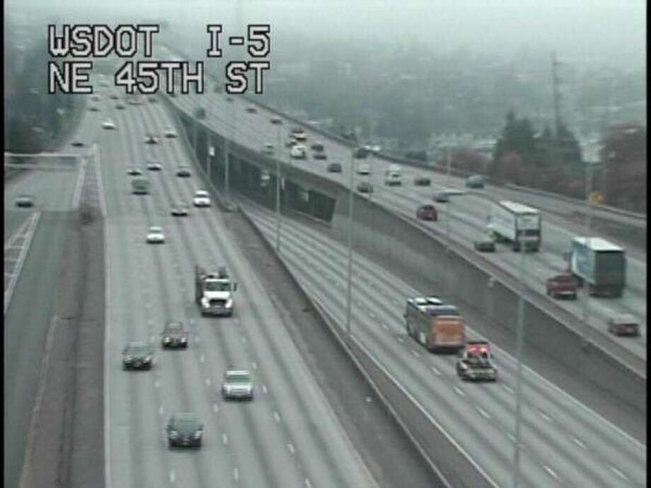 It was four miles to the next exit ... (WSDOT)