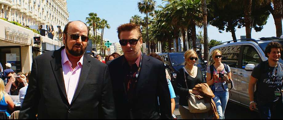 SEDUCED AND ABANDONED: James Toback, Alec Baldwin. Photo: HBO