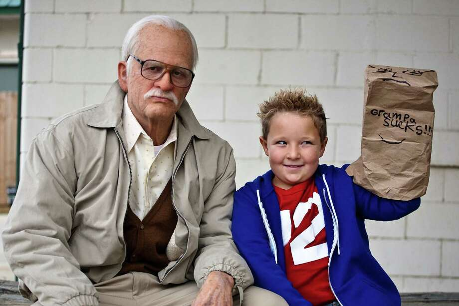 "Grandpa (Johnny Knoxville) and his equally profane grandson (Jackson Nicoll) hit the road à la ""Borat."" Photo: Paramount Pictures"