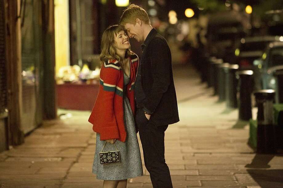 "Rachel McAdams and Domhnall Gleeson in ""About Time."" Photo: Universal Pictures"