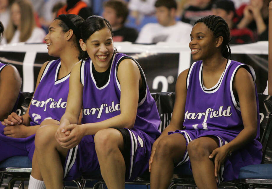 Garfield in modern times, during a girls basketball tournament in 2005.  Photo: Ron Wurzer, P-I File