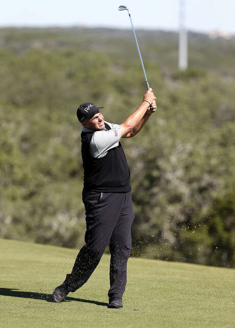 "Rocco Mediate, playing in a pro-am at TPC San Antonio, described the perception that the Champions Tour suffers from a lack of competition as ""crap."" Photo: Tom Reel / San Antonio Express-News"