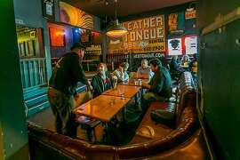 The interior of Bender's r in San Francisco, is seen on Tuesday, October 22nd, 2013.