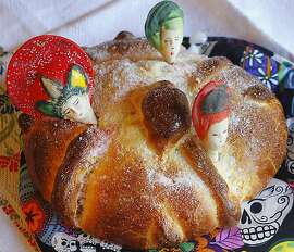 Day of the Dead Bread. Recipe for Jacqueline Higuera McMahan's From South to North column, 10/27/2013.