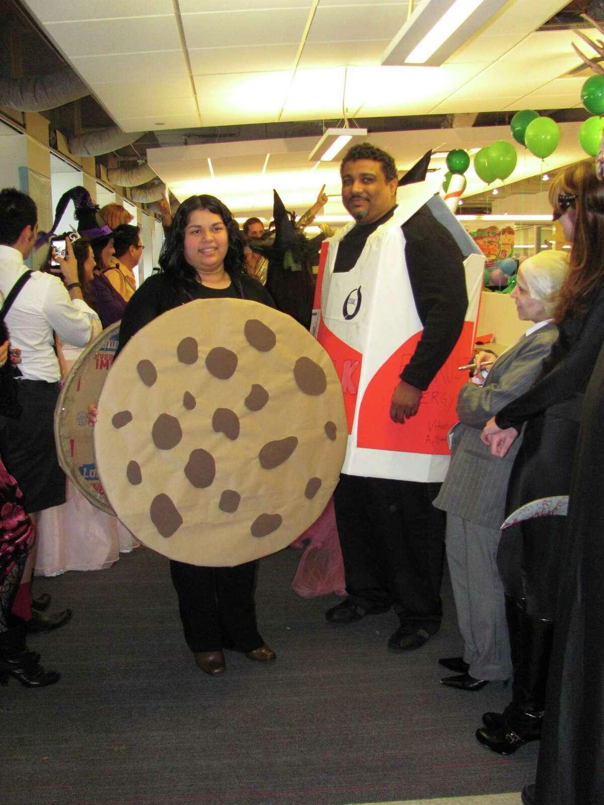 Cookie & Milk Erika Mora (Cookie) & Steven Casarez (Milk)