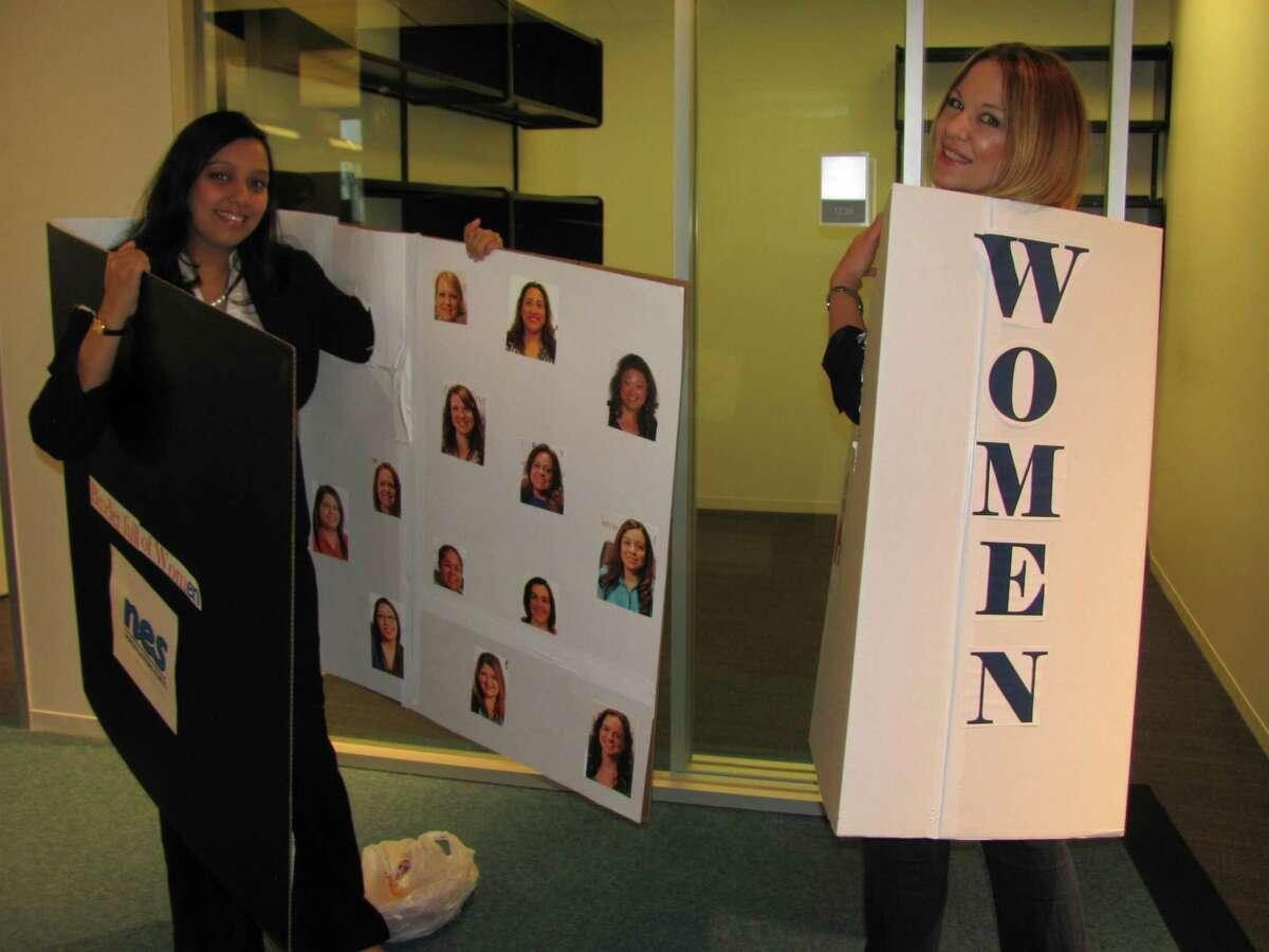 Binders Full of Women Shaleen Gupta (Left) & Jenny Aday (Right)