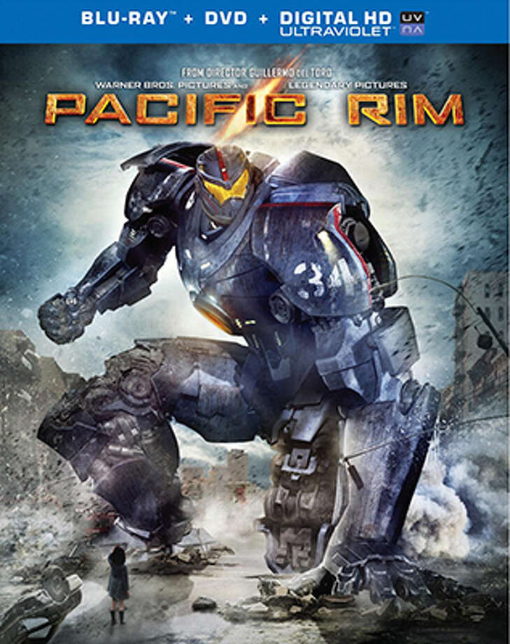 """Pacific Rim"" BD cover Photo: Warner Bros., 2013"
