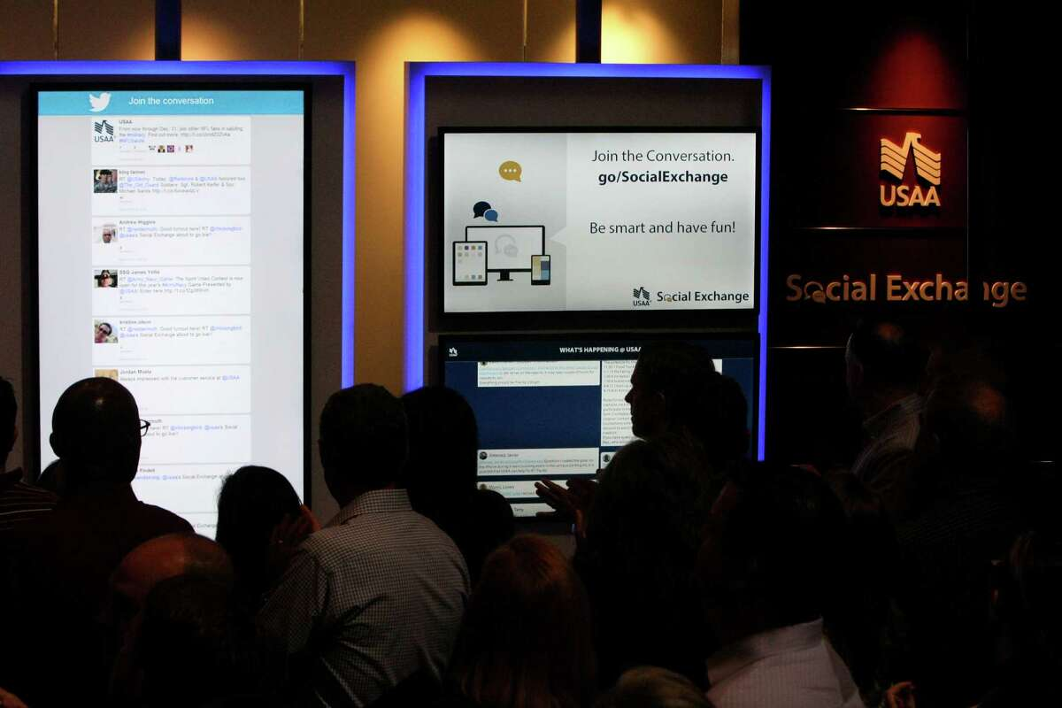 USAA unveiled their new social exchange on Wednesday Oct. 23, 2013. This is the first phase of several plans to incorporate social into the USAA model.
