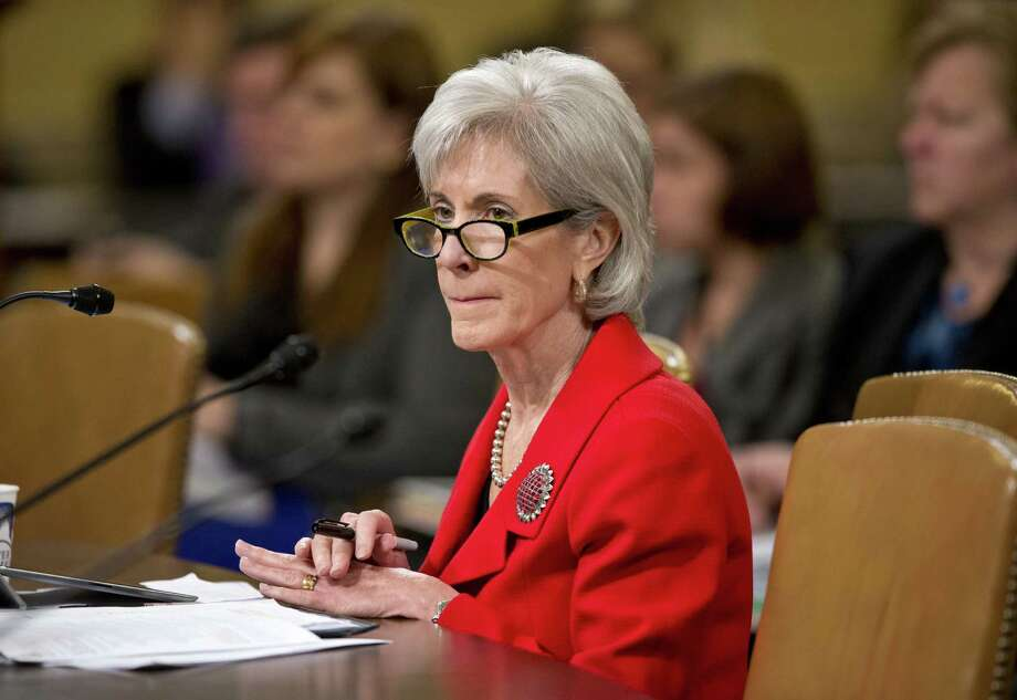 Health and Human Services Secretary Kathleen Sebelius is scheduled to appear before the House Energy and Commerce Committee on the flawed start of online enrollment for health care coverage. Photo: Associated Press File Photo