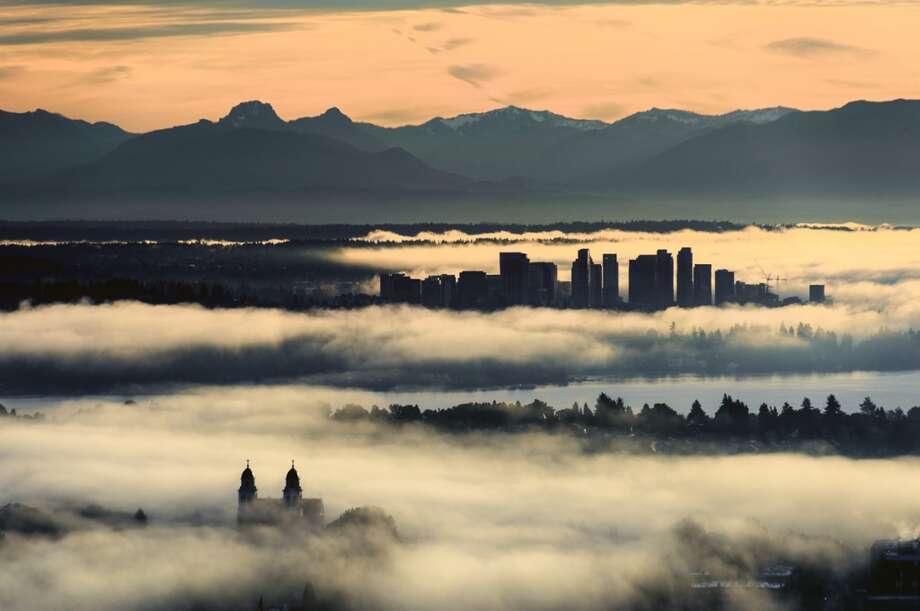 Bellevue: 14.3 percent are uninsured. Photo: TIM DURKAN