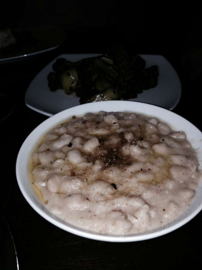 Beans side dish ($7).