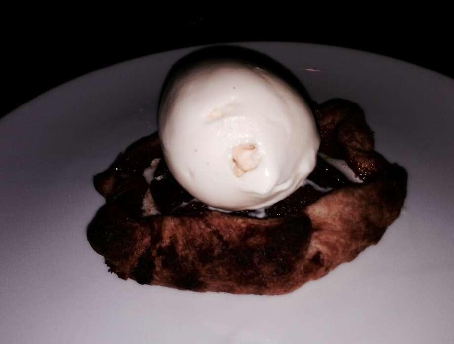 Pear crostata ($9).