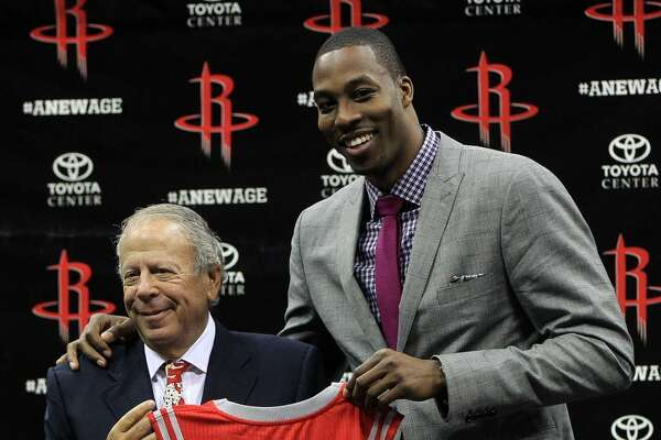 Les Alexander –   Always willing to do whatever it takes to acquire a star player (see Dwight Howard to his right), Les remains committed to adding to the city's collection of NBA championships.