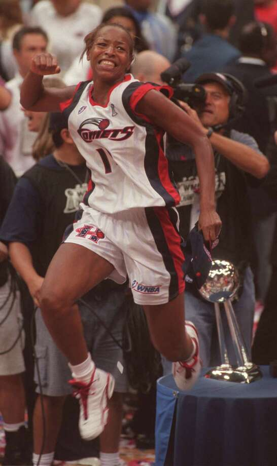 Cynthia Cooper – The Michael Jordan of the WNBA, she could light up anybody and on any given night. Behind her, the Comets (R.I.P.) became the city's longest-running sports dynasty. Photo: Melissa Phillip, Houston Chronicle / Houston Chronicle