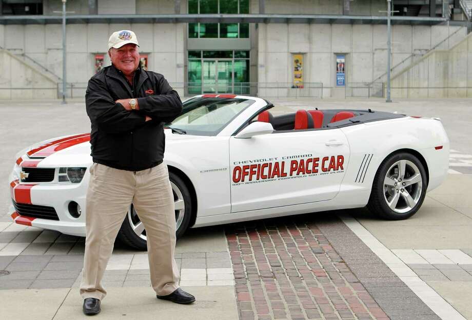 """A.J. Foyt – """"Super Tex"""" got his start at Houston's Playland Park, but his home track was the Indianapolis Motor Speedway, where he won four Indy 500s. He's the only man to win Indy, the Daytona 500 and the 24 Hours of LeMans. Photo: Michael Conroy, Associated Press / AP"""