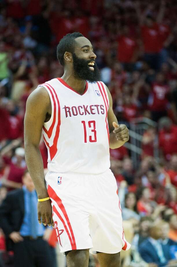 James Harden –   Opposing teams should fear the beard, while all of Houston has fallen in love with the lefty shooting guard who was acquired by the Rockets right before the start of the 2012-13 season. Photo: Smiley N. Pool, Houston Chronicle