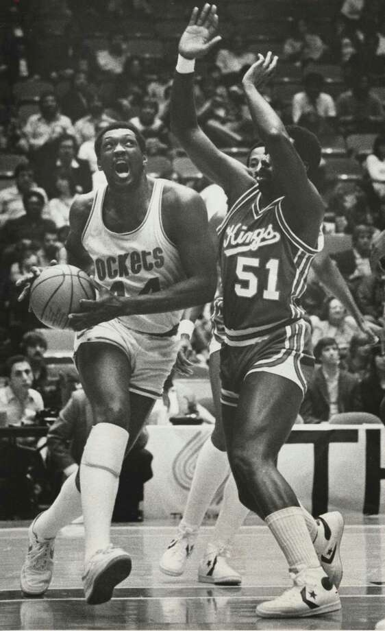 Elvin Hayes –  The Big EEEEEEEEEEEEEE! Not only did he take down mighty UCLA in the Astrodome in the game that invented college basketball, his presence with the San Diego Rockets was why they became the Houston Rockets. Photo: Ben DeSoto, Houston Chronicle / Houston Chronicle