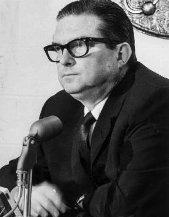 Roy Hofheinz –  Legislator, county judge, mayor and visionary, the Judge helped bring big league baseball to Houston and envisioned and built the Astrodome, which still stands as a monument to his ambition and imagination.