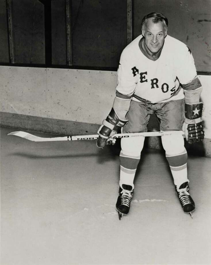 Gordie Howe –  You had to be here to have appreciated how special it was to have Mr. Hockey skating on Houston ice for the original Aeros. Picture Babe Ruth coming out of retirement to lead the Astros to a couple World Series. Howe was the WHA's MVP at 46. Unreal. Photo: UNKNOWN / HANDOUT
