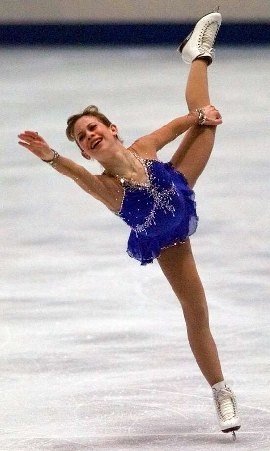 Tara Lipinski –  This modern-day Sugar Land Express trained briefly at the Galleria ice rink, perfected her craft in Detroit and won the 1998 ladies figure skating gold medal at age 15, the youngest Olympic champion ever. Photo: Amy Sancetta, Associated Press / AP