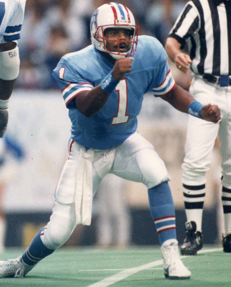Warren Moon – At the time he was playing, perhaps we didn't appreciate him enough, but so many lean years since have changed our perspective. Moon's Oilers tenure was loads of fun, even if he failed to deliver a Super Bowl. Photo: Dave Einsel, Houston Chronicle / Houston Chronicle