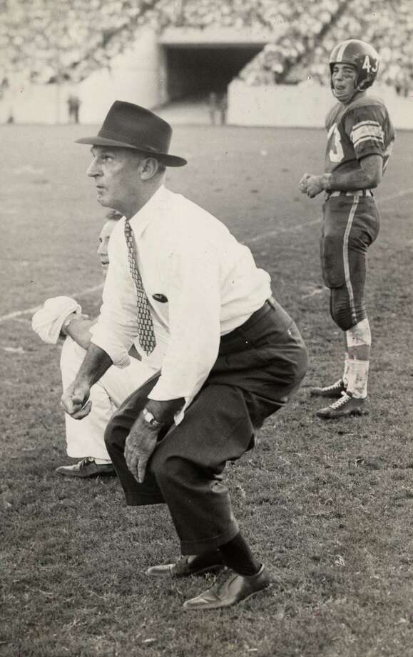 Jess Neely (1898-1983) –We have Neely to thank for Rice Stadium. Houston was a different place back when he coached the Owls, but his body of work speaks for itself. Photo: Sam Pierson, Houston Chronicle / Houston Chronicle