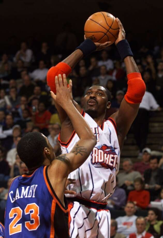 Hakeem Olajuwon – The greatest ever to wear Houston's colors? It's him or Earl Campbell, and Dream did deliver two NBA titles. That's the tiebreaker. Photo: Houston Chronicle