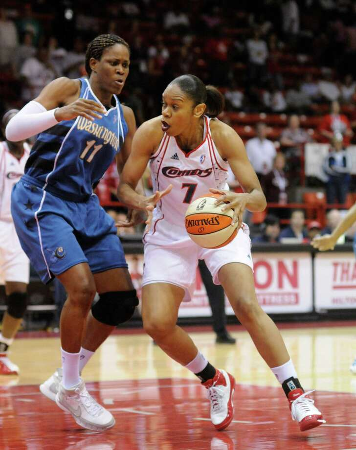 Tina Thompson –  One of the Comets' Big Three that won the first four WNBA championships, Thompson has won two Olympic gold medals (2004 and 2008) and is the WNBA's career scoring leader. Photo: Steve Ueckert, Houston Chronicle / Houston Chronicle