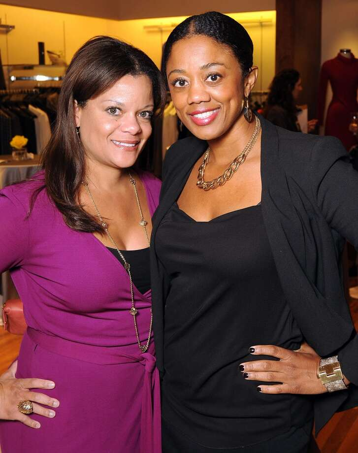 Tanya Easter and Denise Furlough Photo: Dave Rossman, For The Houston Chronicle