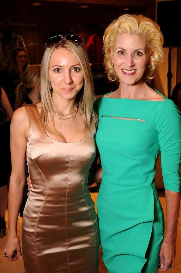 Sofia Nemchenko and Paula Mott Photo: Dave Rossman, For The Houston Chronicle