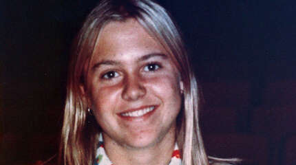 FILE - Martha Moxley, shown at age 14 in this 1974 file photo, was murdered on Oct. 30, 1975.  Michael Skakel's conviction in the death of Moxley was set aside and new trial ordered Wednesday, Oct. 23, 2013 by a Connecticut judge, Thomas Bishop, who ruled that Skakel's trial attorney failed to adequately represent him when he was found guilty in 2002. Skakel's current attorney, Hubert Santos, said he expects to file a motion for bail on Thursday. If a judge approves it, Skakel could then post bond and be released from prison. (AP Photo, File)