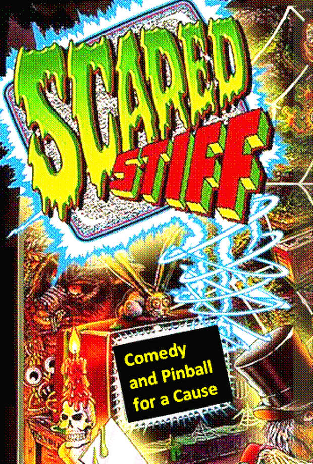 Scared Stiff: With comedians Mary Van Note, Nina G., Christopher John, Aly Jones Jason Dover, Rolly Moe, Mean Dave and DJ Patrick Lottilla. Comedy, free snacks, music and pinball. No host beer, soft drinks. (Adults only show, must be 18 or older.) Tickets: $20. Doors open at 7:30 p.m.; show starts at 8. Saturday at the Pacific Pinball Museum, Alameda. More information at  pacificpinballhalloween.eventbrite.com. Photo: Pacific Pinball Museum