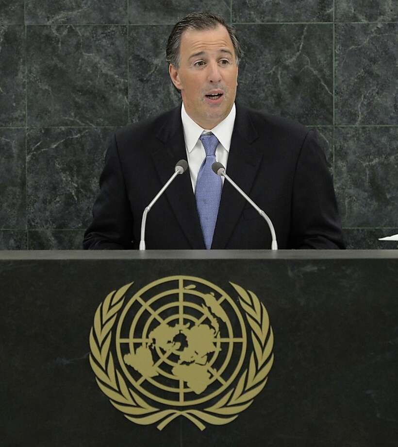 Foreign Minister of Mexico Jose Antonio Meade is upset with the U.S. Photo: Pool, Getty Images