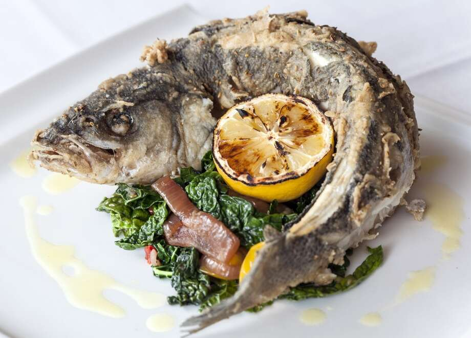 1. Osteria Mazzantini This fish may look scary, but don't let that fool you. Read on to find out why Cook says this restaurant is so good, she didn't even know she was waiting for it. Photo: Craig Hartley, For The Chronicle