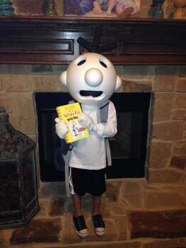 Our son Jackson requested Diary of a Wimpy Kid, and I think Dad came through:) Lots of styrofoam and hot glue, some tlc, and one very happy six year old!