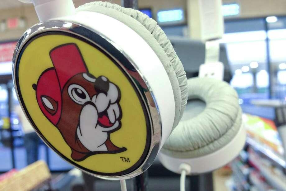 BUC-EE'S HEADPHONES:So gangsta. Photo: Brett Mickelson / Brett Mickelson