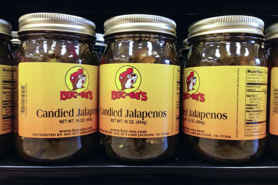 CANDIED JALAPENOS:A real Texan considers regular jalapenos candy, but these are good, too. Photo: Brett Mickelson / Brett Mickelson