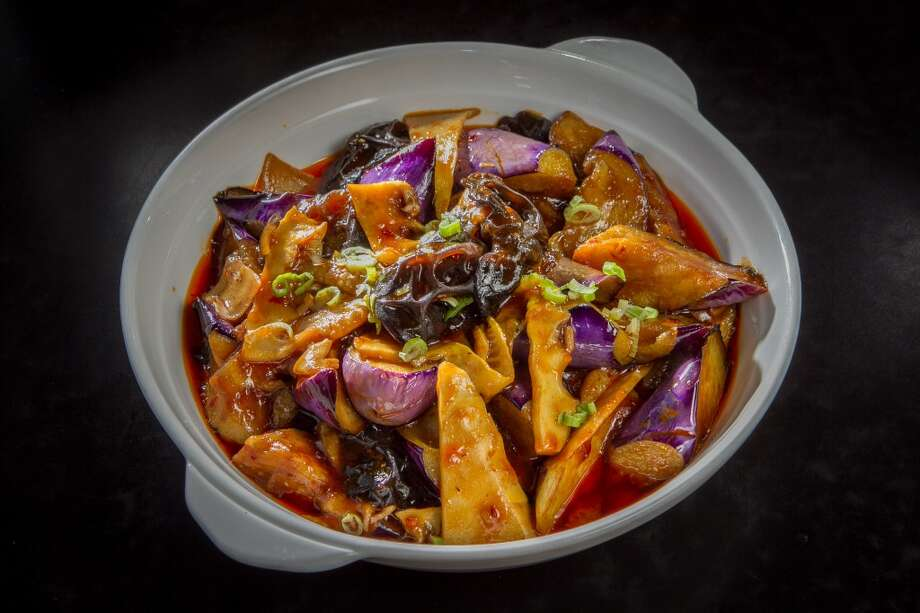 The Fish Fragrant Eggplant at Mama Ji's in San Francisco. Photo: John Storey, Special To The Chronicle