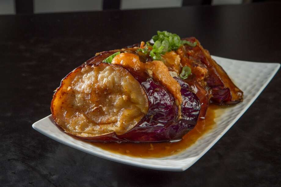 The Shrimp Stuffed Eggplant at Mama Ji's in San Francisco. Photo: John Storey, Special To The Chronicle