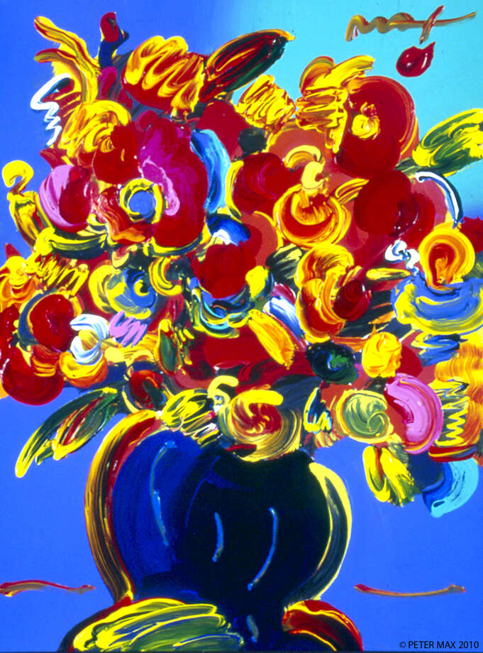 painting by Peter Max Photo: --