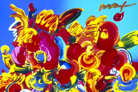 painting by Peter Max