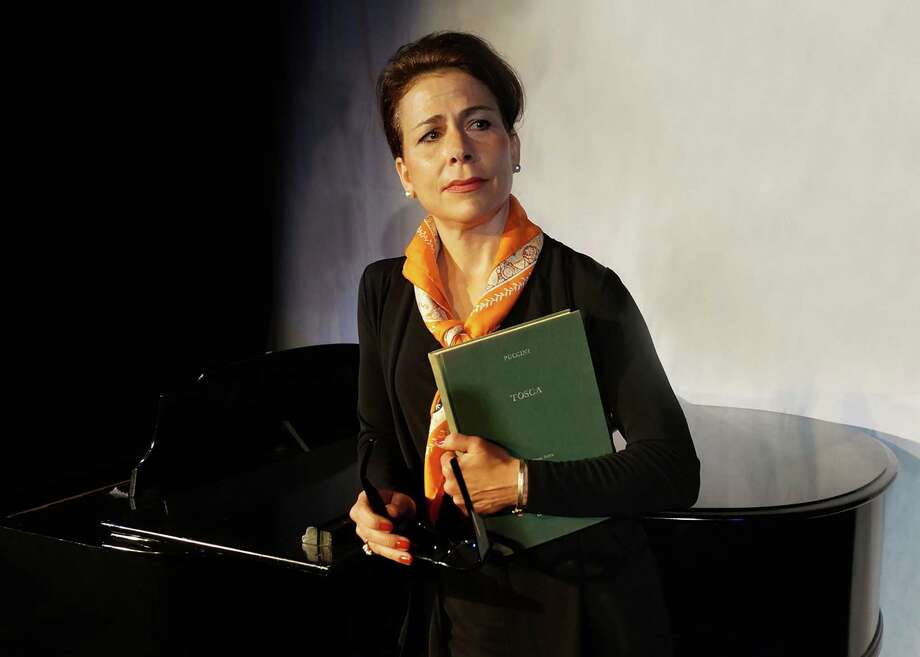 "Irene Glezos is playing opera legend Maria Callas in the Tony Award-winning Terrence McNally play ""Master Class"" at the Music Theatre of Connecticut in Westport through Nov. 17. Photo: Contributed Photo / Connecticut Post Contributed"