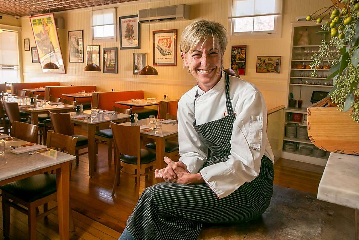 Chef Polly Lappetito at Ciccio in Yountville, Calif., is seen on Thursday, October 17th, 2013.