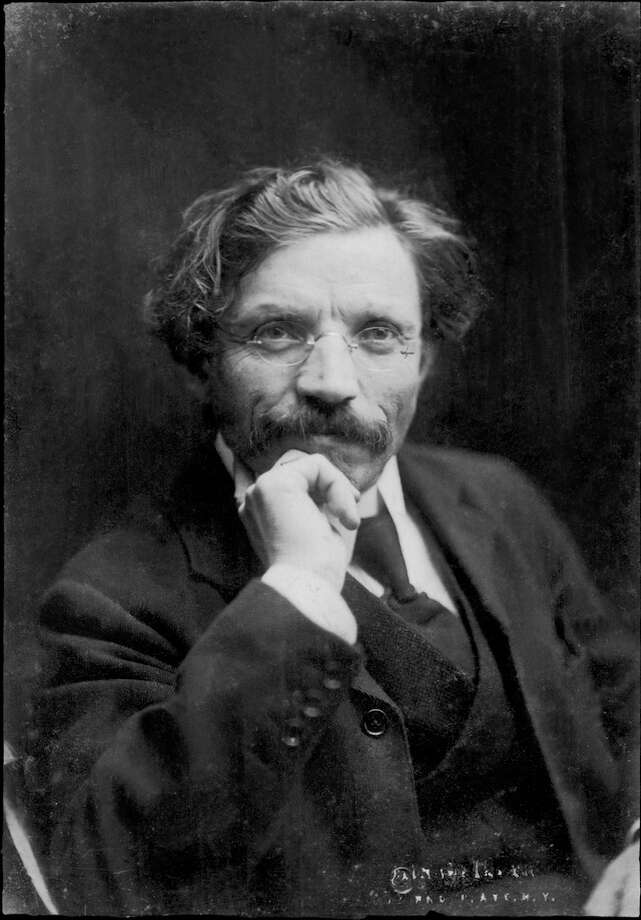 "Sholom Aleichem, writer whose stories were the basis of the musical ""Fiddler on the Roof."" (Courtesy Schenectady JCC) Photo: Panasonic"