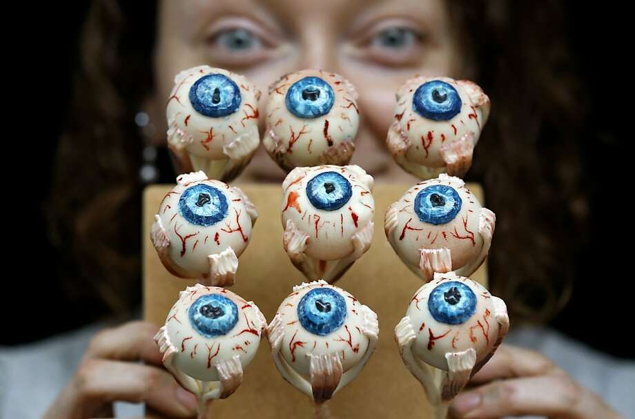 Thanks for the offer, Sarah King, but we can't possibly eat all of your delicious cakes. Your eyes are bigger